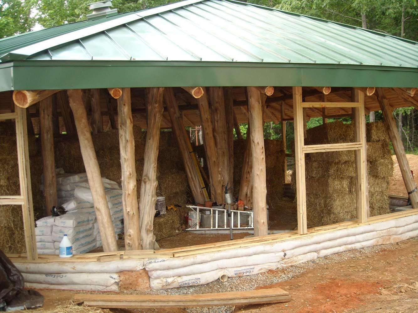 инструкция по строительству дома из соломенных блоков