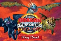 Dragon Training Legends Ejderhalar Berkin Binicileri Oyunu