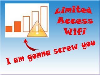 cara mengatasi wifi limited access windows 8 dan 7