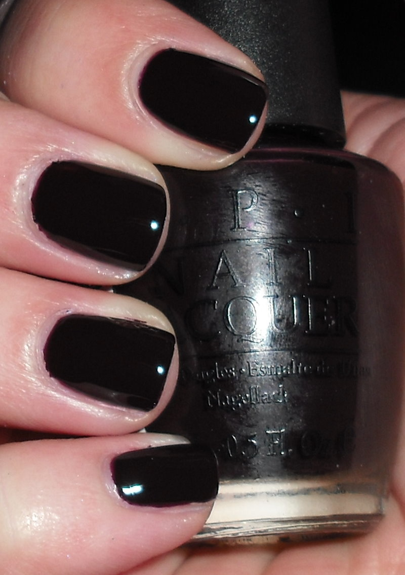 Imperfectly Painted: OPI Lincoln Park After Dark