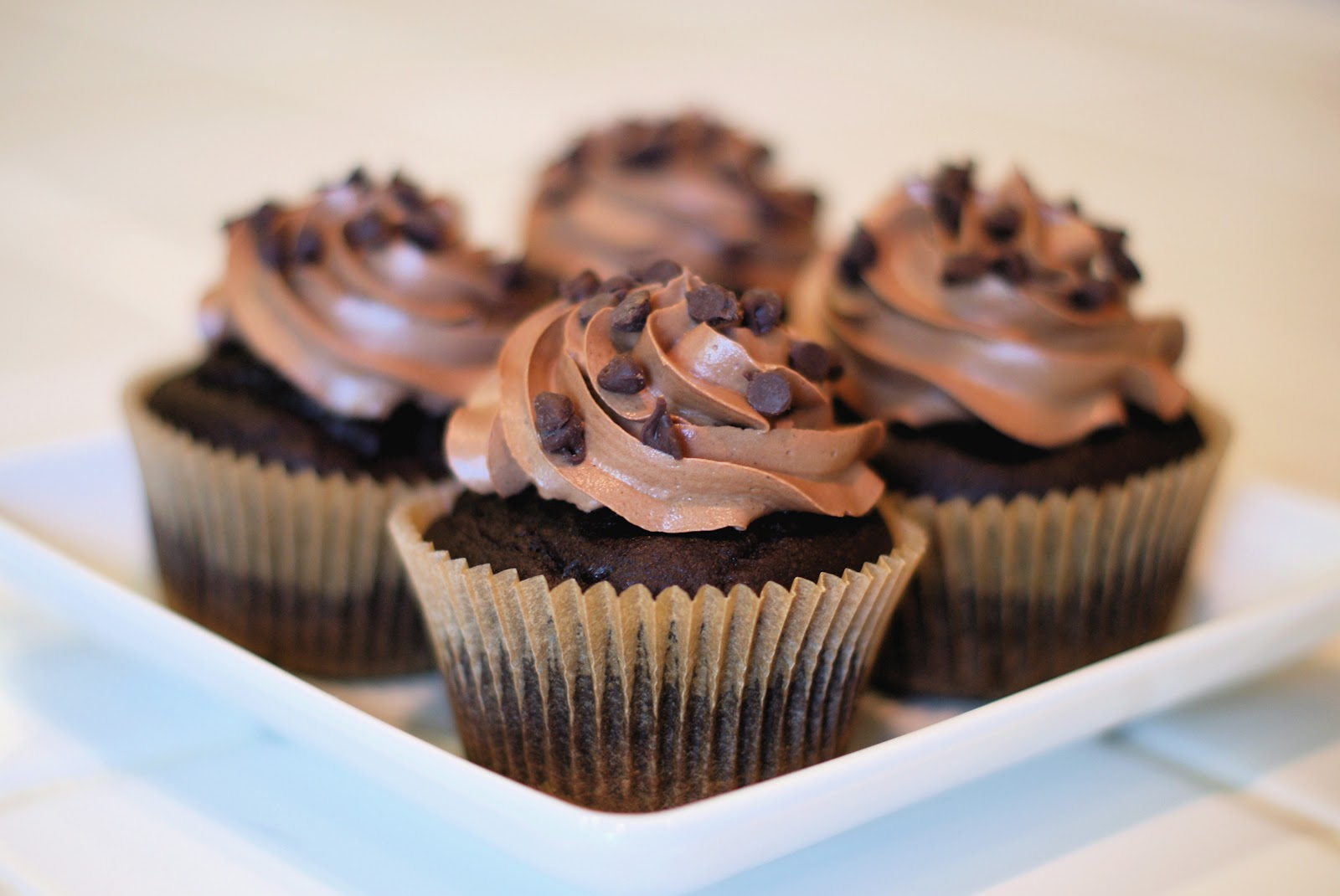 the recipe for chocolate cupcakes