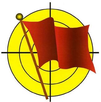 Red Flag Logo med