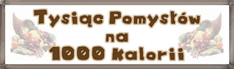 Tysic pomysw na 1000 kalorii