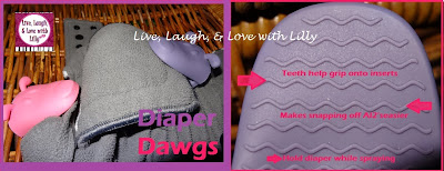 Review and Giveaway Diaper Dawgs, soiled inserts cloth diaper laundry
