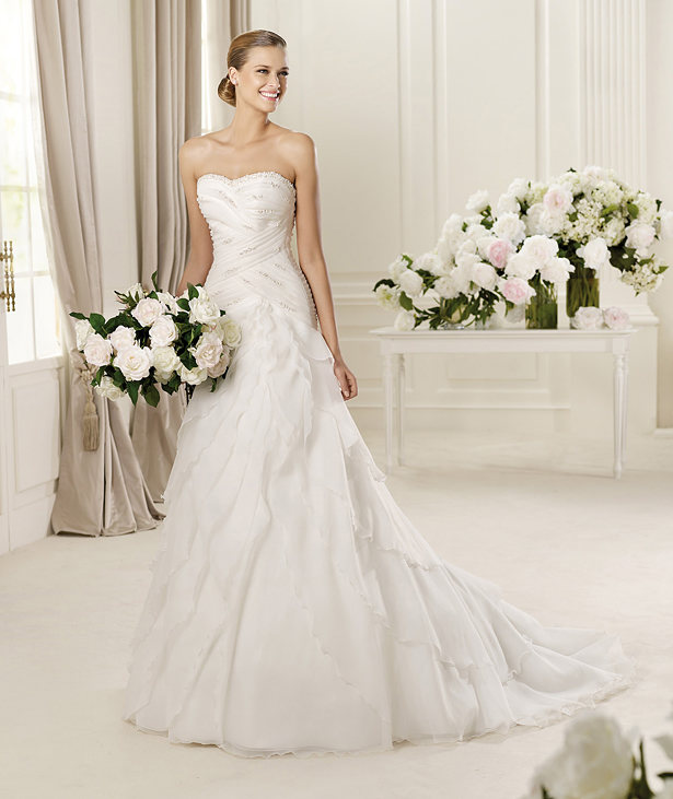 Cheap Wedding Gowns Online Blog Pronovias 2013 Bridal Collection