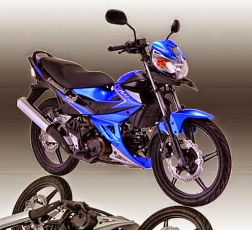 Kawasaki Athlete 125 Blue