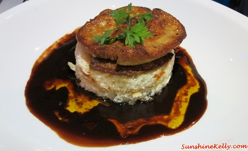 Pan Seared Foie Gras, French, Broiche, Red Wine Jus, iMiirage @ Ipoh SoHo, iMiirage, Ipoh soho, ipoh, soho, World's 1st Ambience Dining Experience