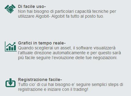 ALGOBIT - Autotrading per le Opzioni Binarie con oltre il 90% di precisione!! Guadagni Assicurati anche per Principianti