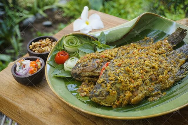 Mujair Menyatnyat khas Kintamani - Bali