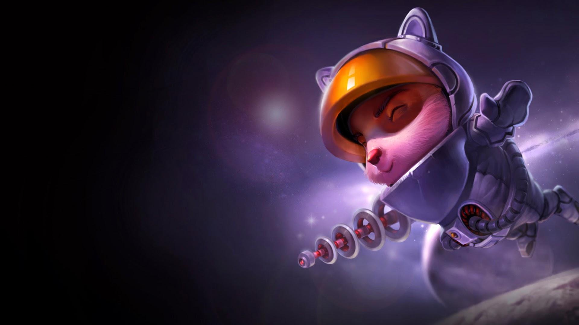 Teemo Astronaut LoL Skin Splash 7i Wallpaper HD