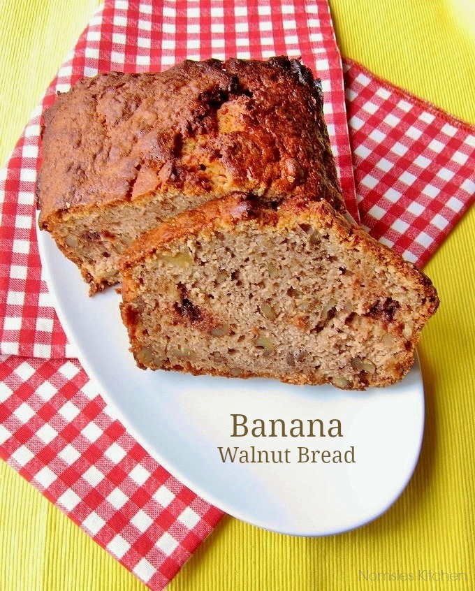 Banana Walnut Bread Recipe from Nomsies Kitchen