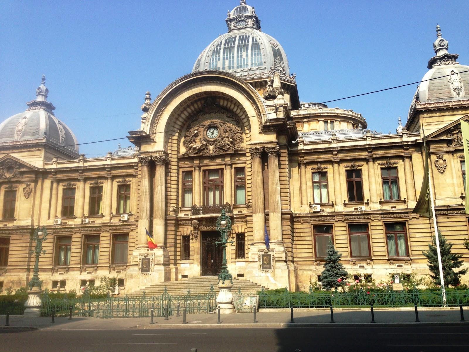 Architectural masterpieces: CEC Palace, Bucharest