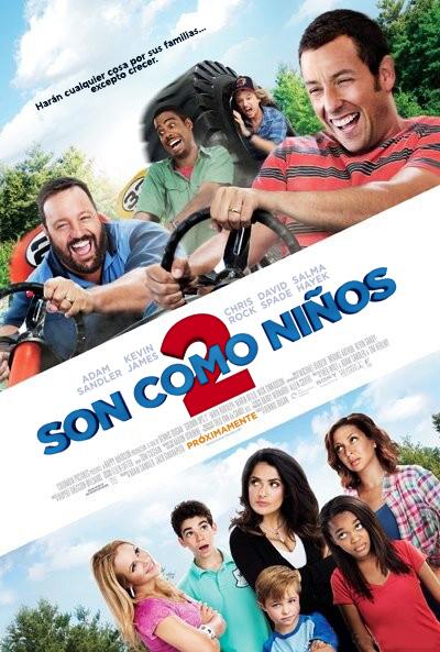 Son como niños 2 (Grown Ups 2 / Niños grandes 2) 2013
