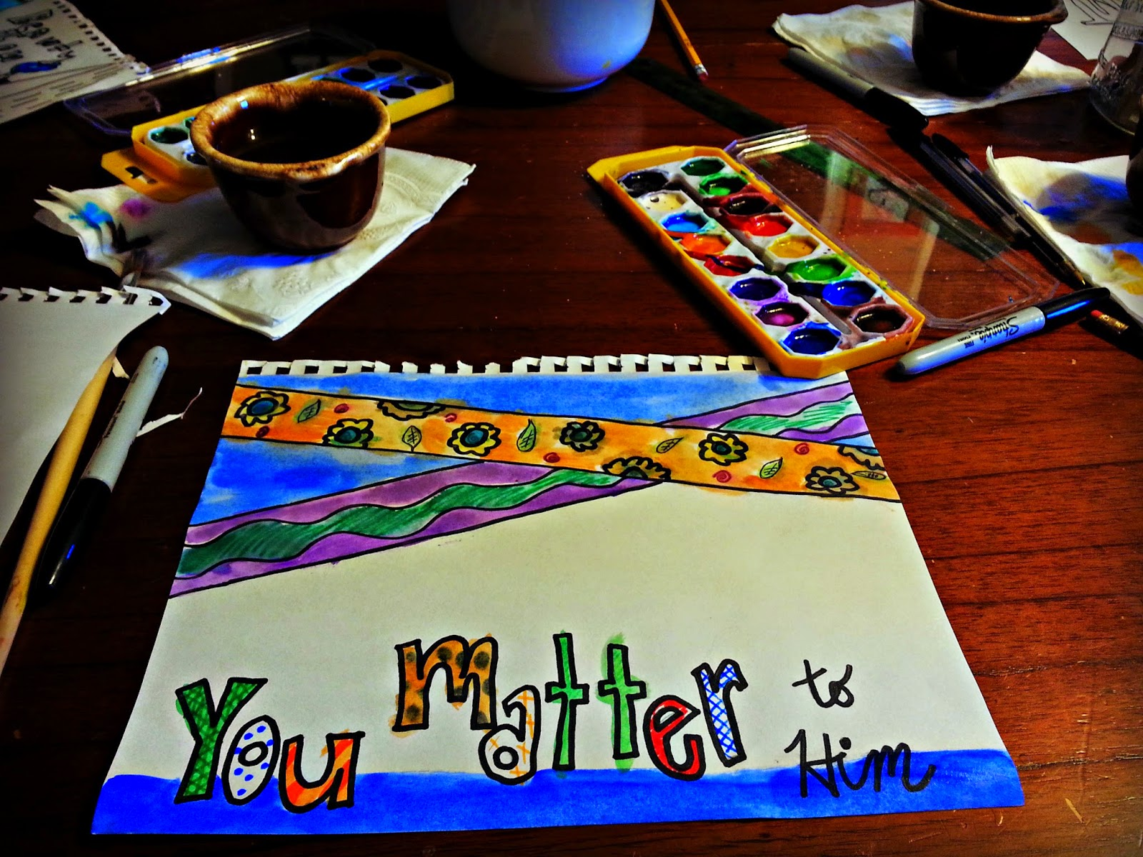 Painting in the Morning....