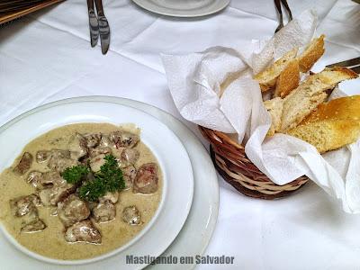 Ristorante La Pasta Gialla: Iscas de Mignon ao Molho de Gorgonzola