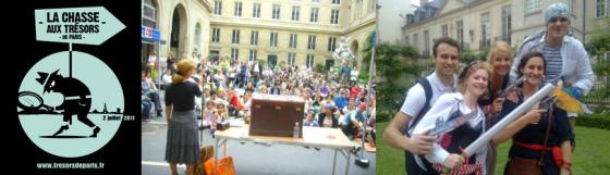 La Chasse aux trésors de Paris - 2 juillet 2011