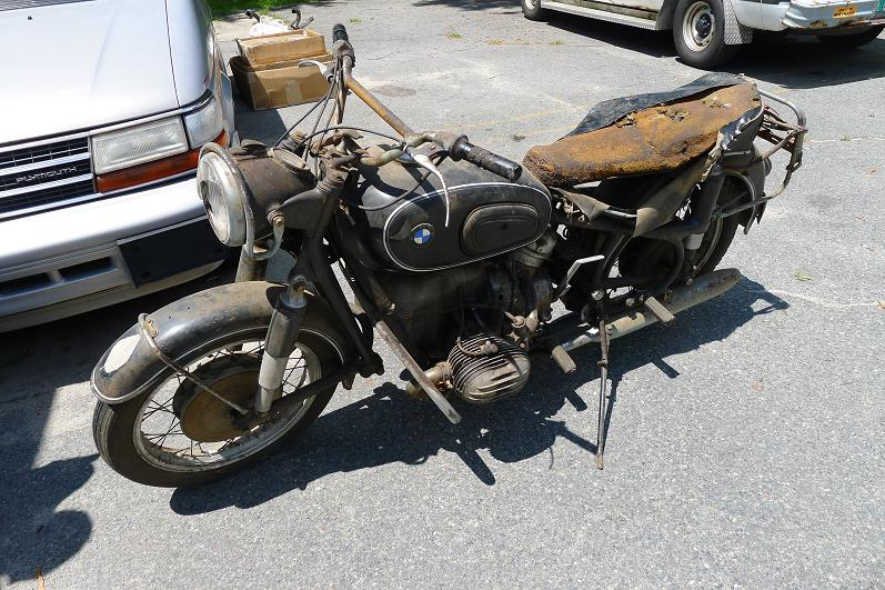 New England Zen 1956 Bmw R50 Barn Find Recommision