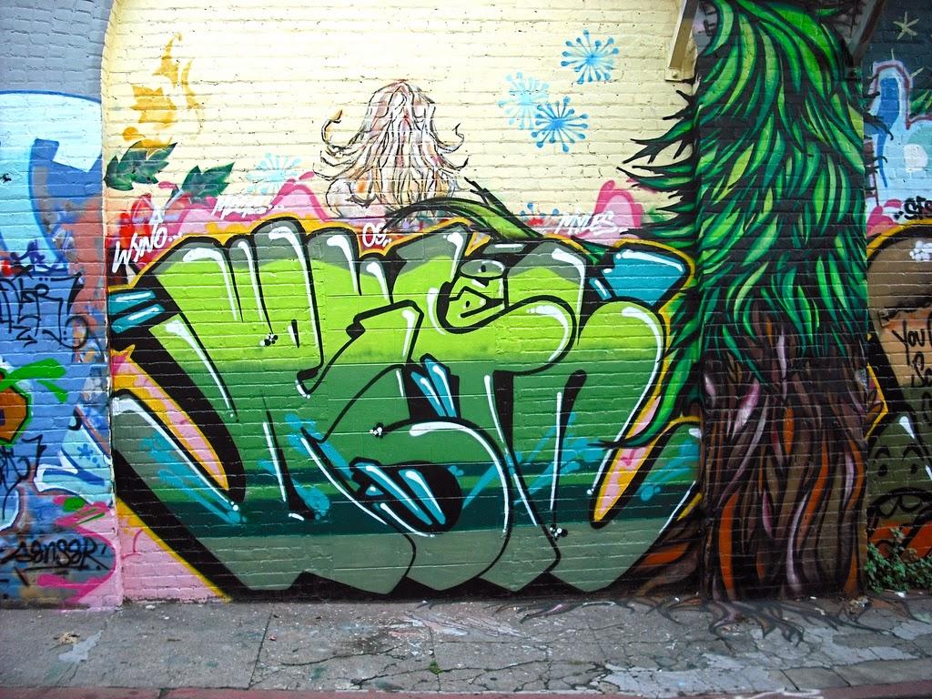 Graffiti street art san francisco ca