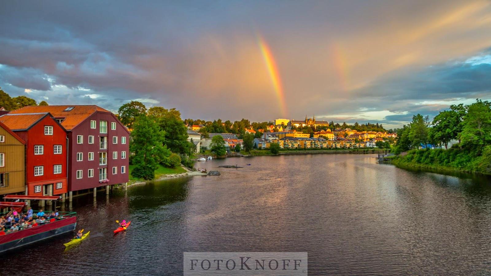Rainbow - Trondheim, Norway (Photo Sven-Erik Knoff)