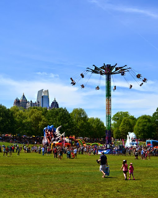 Atlanta Dogwood Festival 2015 | Kids Zone