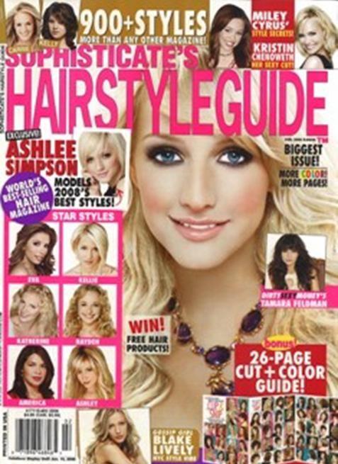 Celebrity Hairstyles Magazine