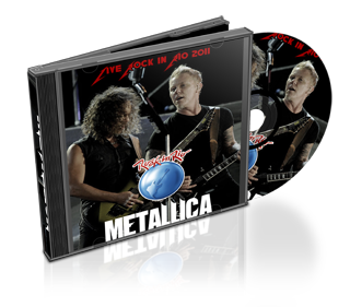 Download CD Metallica Live from Rock in Rio 2011