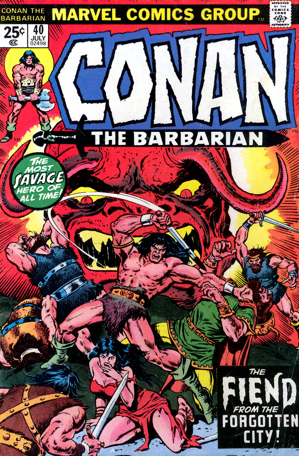 Conan the Barbarian (1970) Issue #40 #52 - English 1