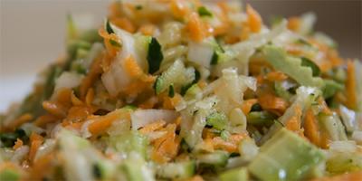 recetas de cocina ensalada de calabacin