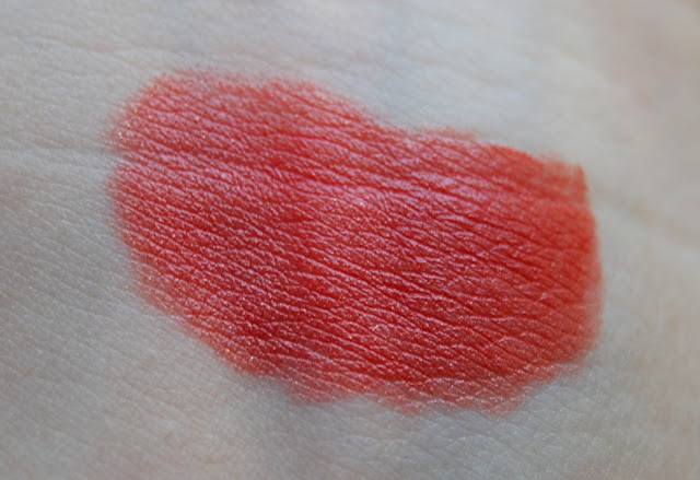 Clinique Long Last Lipstick in Golden Brandy Swatch
