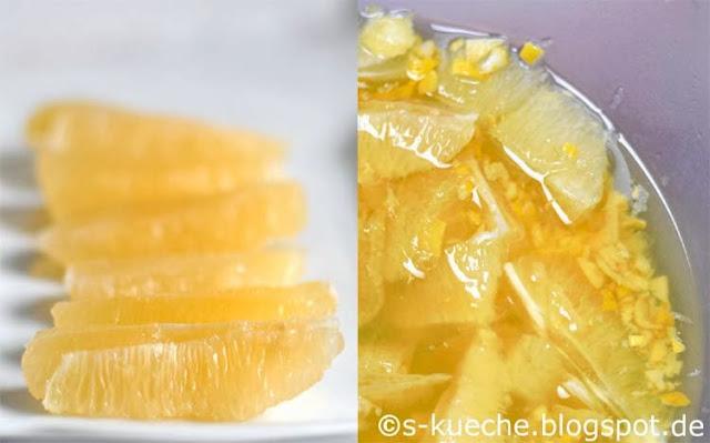 Meyer Lemon Gewürz Marmelade Zitronen Filets