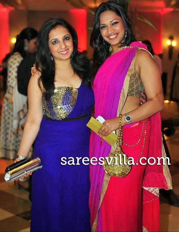 Monisha Khatwani with Manasi Verma