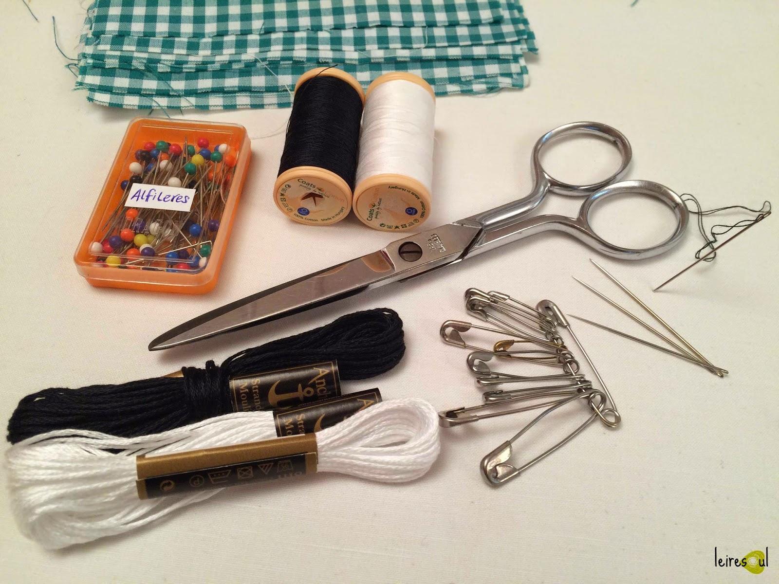 ¿qué necesito para coser?