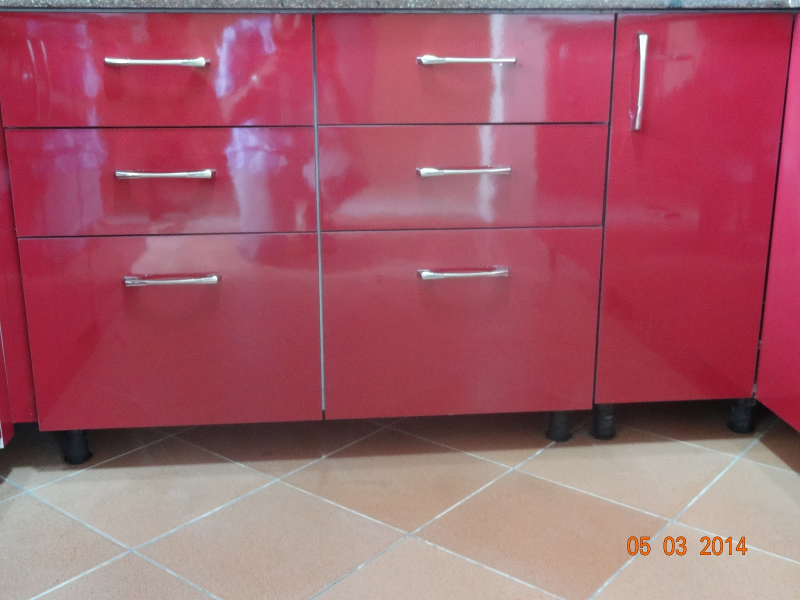 Thyagaraj v fine modulars for Kitchen wardrobe colours