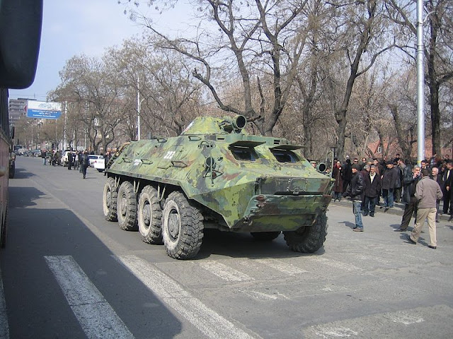 Foto Armoured personnel carrier APC
