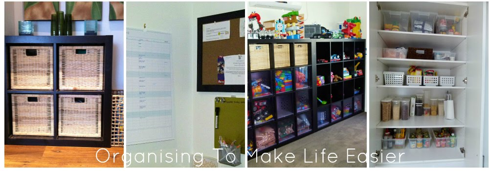 Organising To Make Life Easier