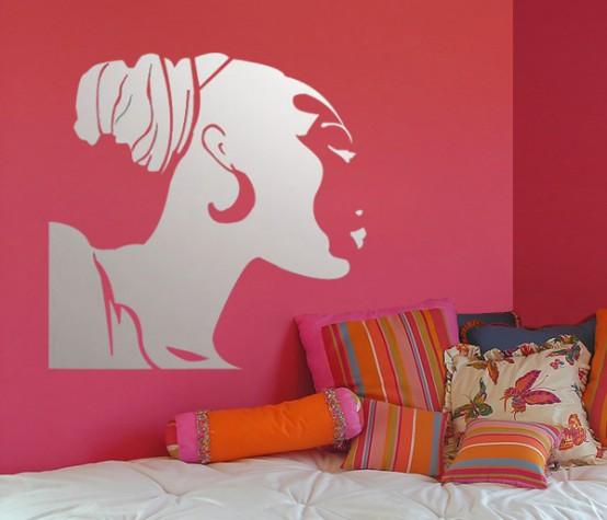 Interior Design Idea Using Wall Mirror Stickers HOME