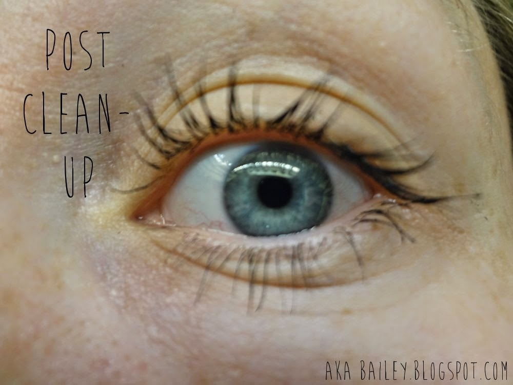 Avon Mega Effects Mascara after I cleaned it up