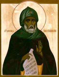 Святой Моисей Мурин- молитва от пьянства и запоя