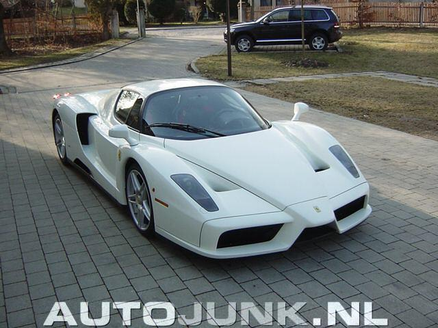 What Your Thoughts On A White Ferrari Enzo