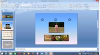 membuat animasi pada slide presentasi
