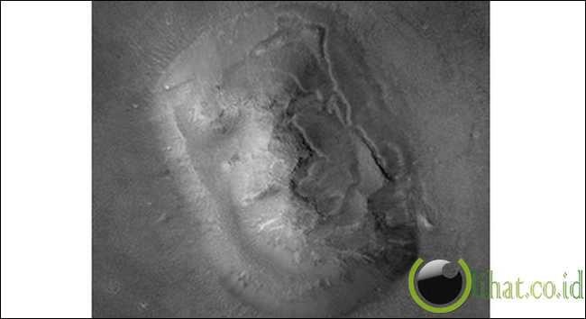 Wajah Manusia di Mars