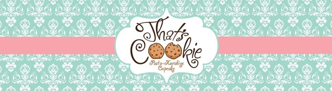 That's Cookie İstanbul Butik Kurabiye & Pasta