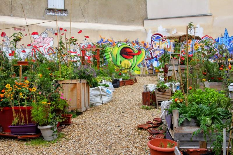 Cité Aubry - Jardin