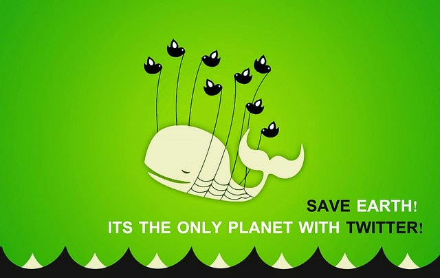 Save earth! It's the only planet with Twitter!