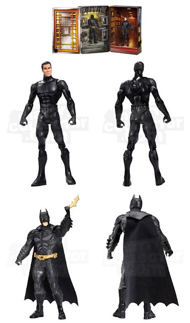 "San Diego Comic-Con 2012 Exclusive ""Bruce Wayne to Batman"" The Dark Knight Rises Movie Masters Action Figure by Mattel"