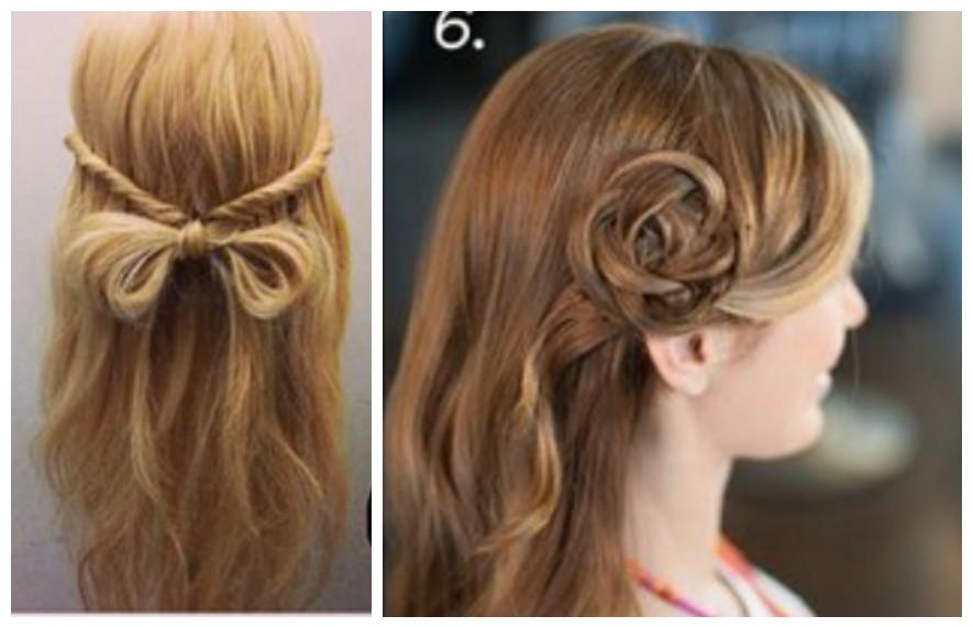 resultado de imagen para peinados colegiales faciles