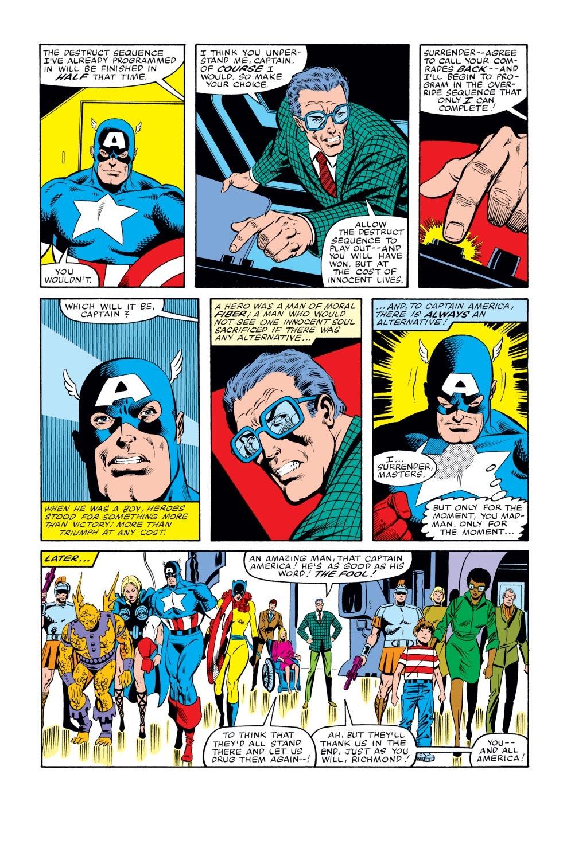 Captain America (1968) Issue #268 #183 - English 22