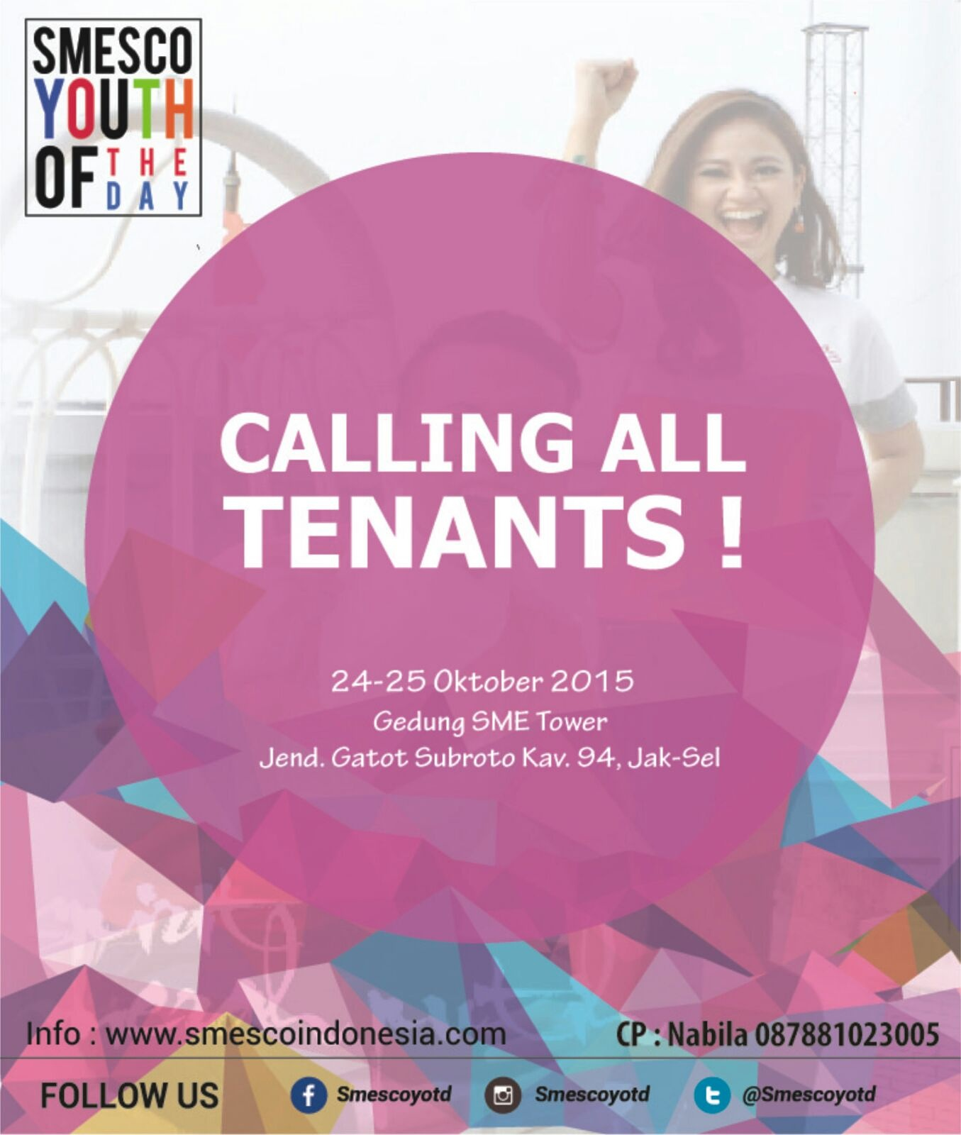 October 2015 Smesco Promo Produk Ukm Bumn Bahan Songket Sulam Katun Merah Calling All Tenants