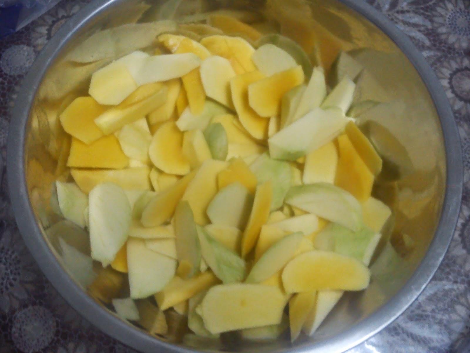 azreen zunairah resipi jeruk mangga asam boi yang super duper