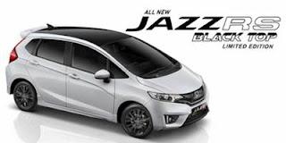 Harga Honda Jazz RS Black Top limited edition